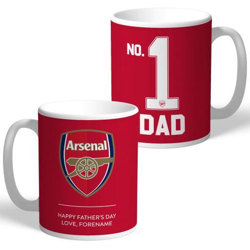 Arsenal FC No.1 Dad Mug
