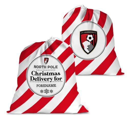 AFC Bournemouth Christmas Delivery Santa Sack