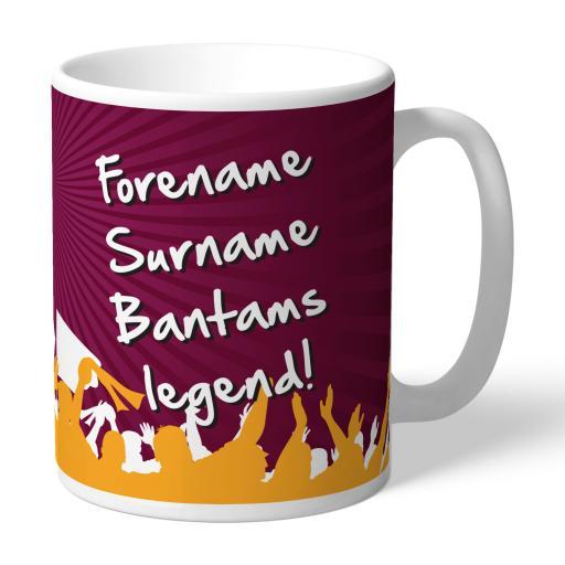 Bradford City AFC Legend Mug