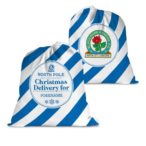 Blackburn Rovers FC Christmas Delivery Santa Sack