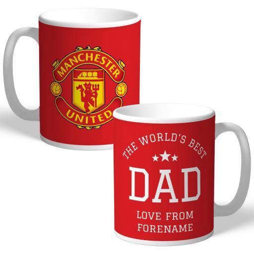 Manchester United FC World's Best Dad Mug
