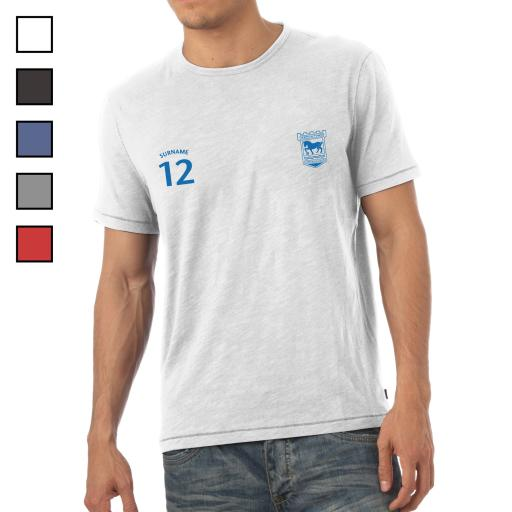 Ipswich Town FC Mens Sports T-Shirt