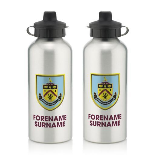 Burnley FC Bold Crest Water Bottle