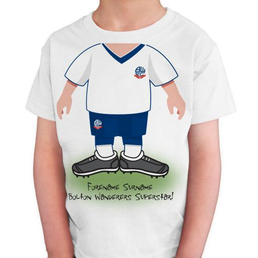 Bolton Wanderers FC Kids Use Your Head T-Shirt