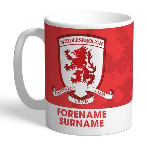 Middlesbrough Bold Crest Mug