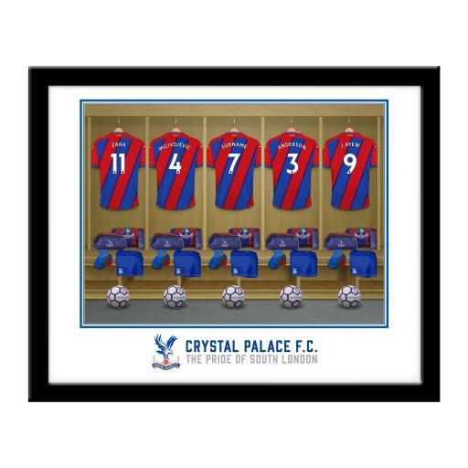 Crystal Palace FC Dressing Room Framed Print