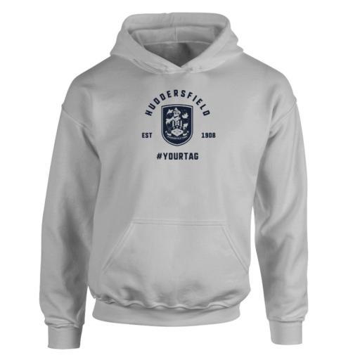 Huddersfield Town Vintage Hashtag Hoodie