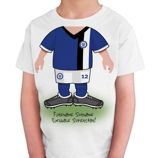 Rochdale AFC Kids Use Your Head T-Shirt