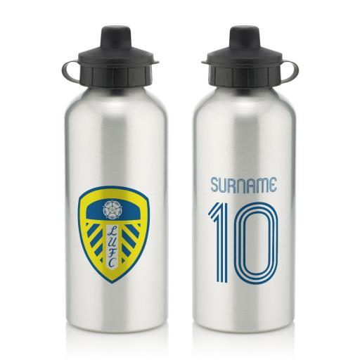 Leeds United FC Retro Shirt Water Bottle