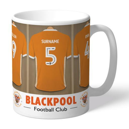Blackpool FC Dressing Room Mug