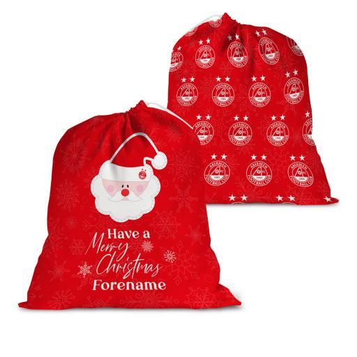 Aberdeen FC Merry Christmas Santa Sack