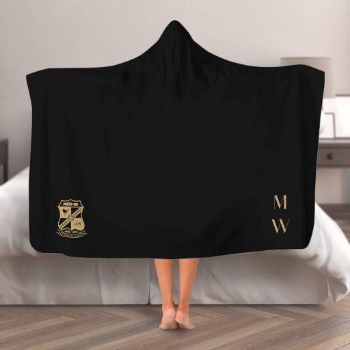 Swindon Town FC Initials Hooded Blanket (Adult)