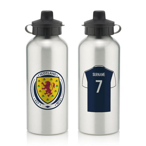 Scotland Aluminium Water Bottle