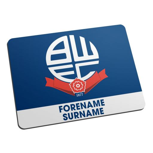 Bolton Wanderers Bold Crest Mouse Mat