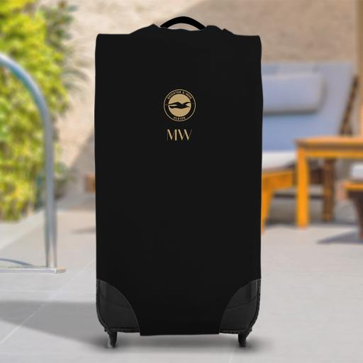 Brighton & Hove Albion FC Initials Caseskin Suitcase Cover (Large)