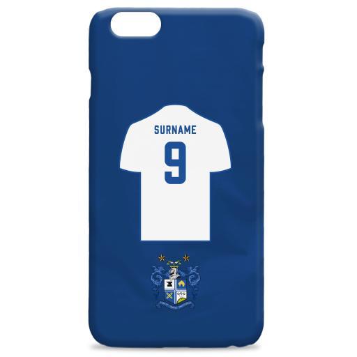 Bury FC Shirt Hard Back Phone Case