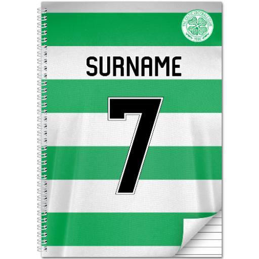 Celtic FC Shirt Notebook
