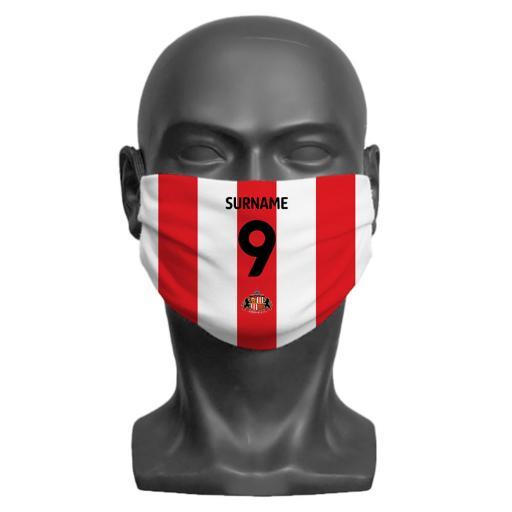Sunderland AFC Back of Shirt Children's Face Mask