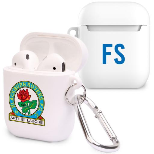 Blackburn Rovers FC Initials Airpod Case