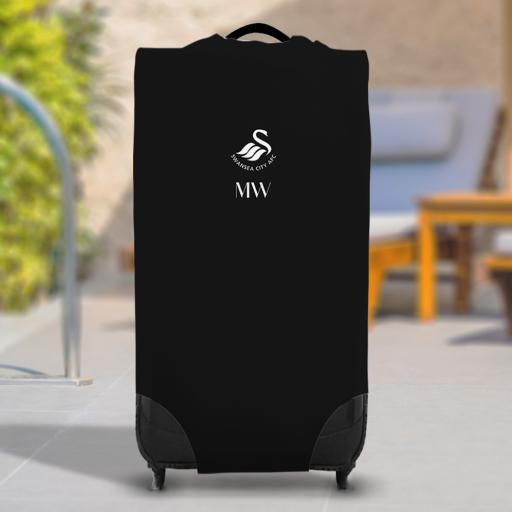 Swansea City AFC Initials Caseskin Suitcase Cover (Large)
