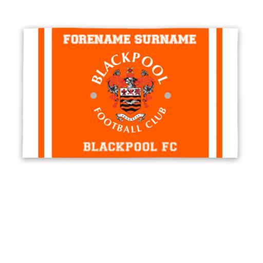 Blackpool Crest 5ft x 3ft Banner