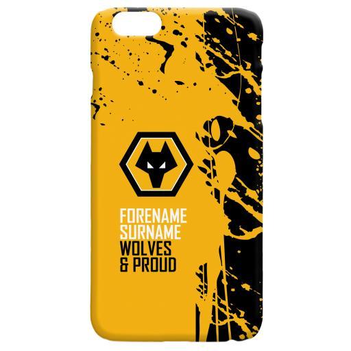 Wolves Proud Hard Back Phone Case