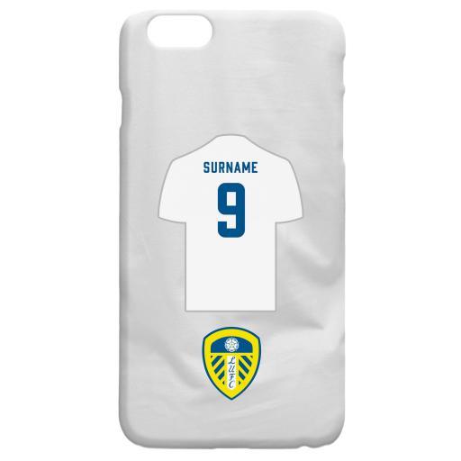 Leeds United FC Shirt Hard Back Phone Case
