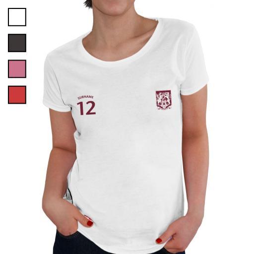 Northampton Town FC Ladies Sports T-Shirt