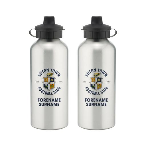Luton Town FC Bold Crest Water Bottle