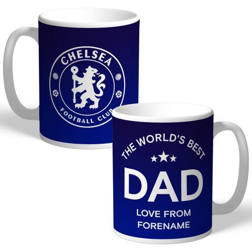 Chelsea FC World's Best Dad Mug