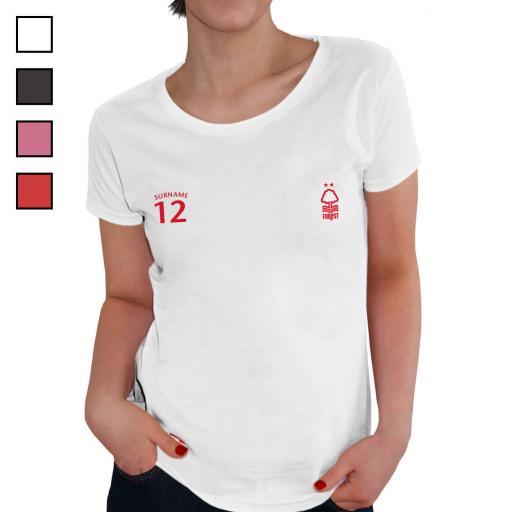 Nottingham Forest FC Ladies Sports T-Shirt