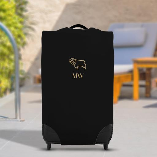 Derby County Initials Caseskin Suitcase Cover (Medium)