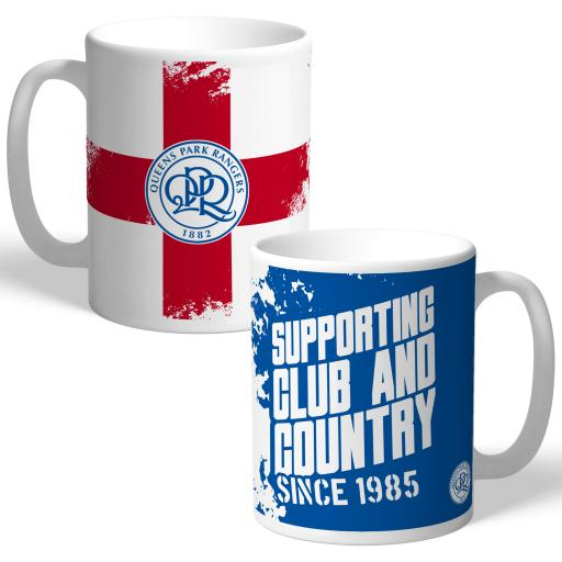 Queens Park Rangers FC Club and Country Mug