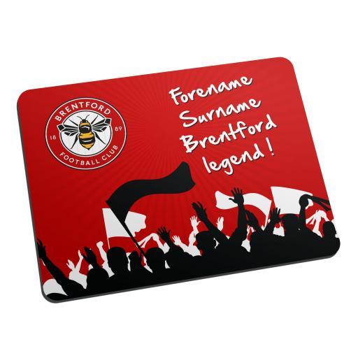 Brentford FC Legend Mouse Mat