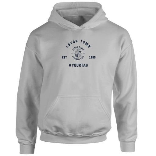 Luton Town FC Vintage Hashtag Hoodie