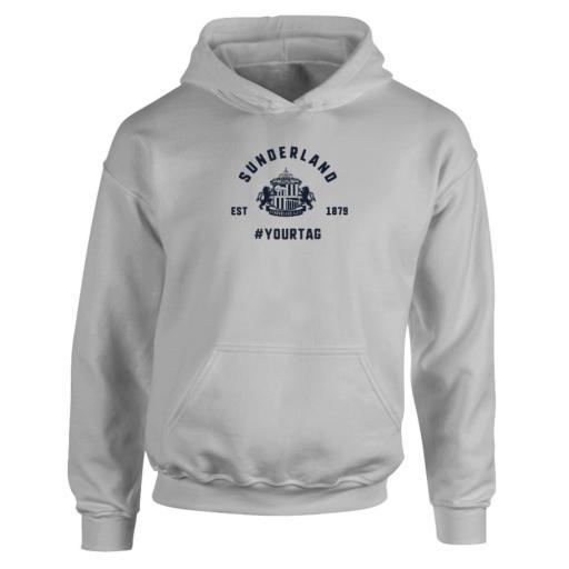 Sunderland AFC Vintage Hashtag Hoodie