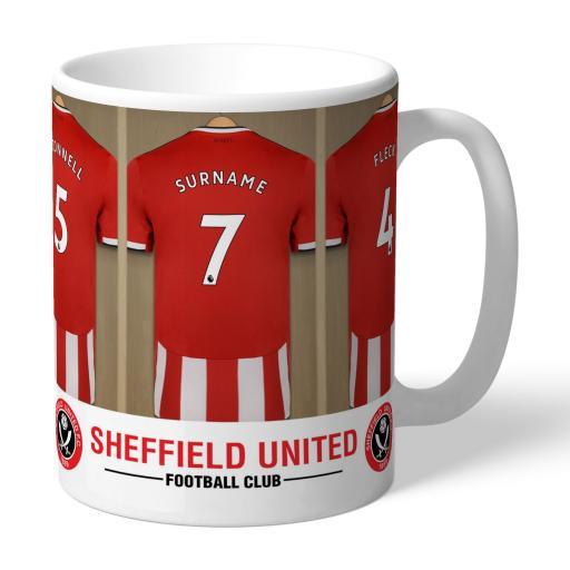 Sheffield United FC Dressing Room Mug