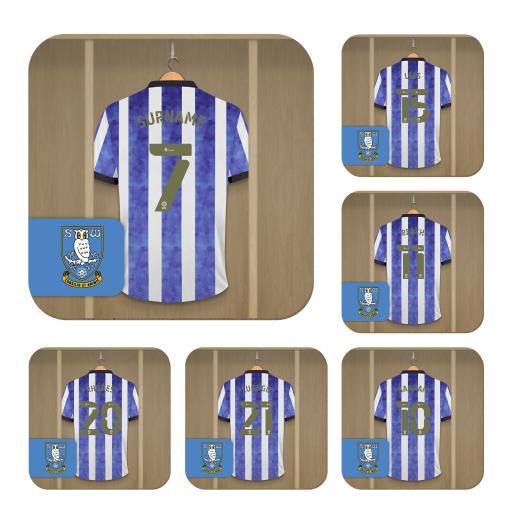 Sheffield Wednesday FC Dressing Room Coasters