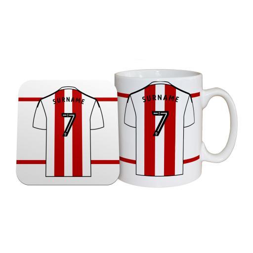 Brentford FC Shirt Mug & Coaster Set