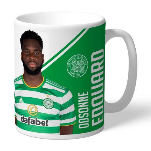 Celtic FC Edouard Autograph Mug