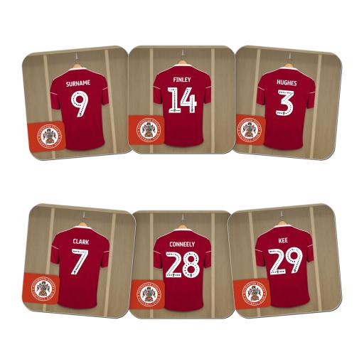 Accrington Stanley FC Dressing Room Coasters