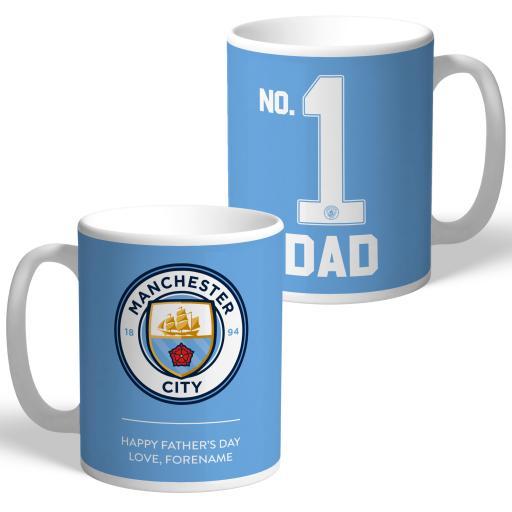 Manchester City FC No.1 Dad Mug