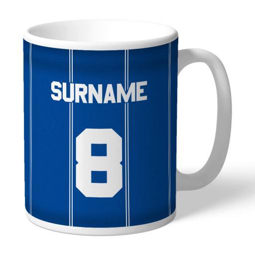 Leicester City FC Retro 83 Kit Mug