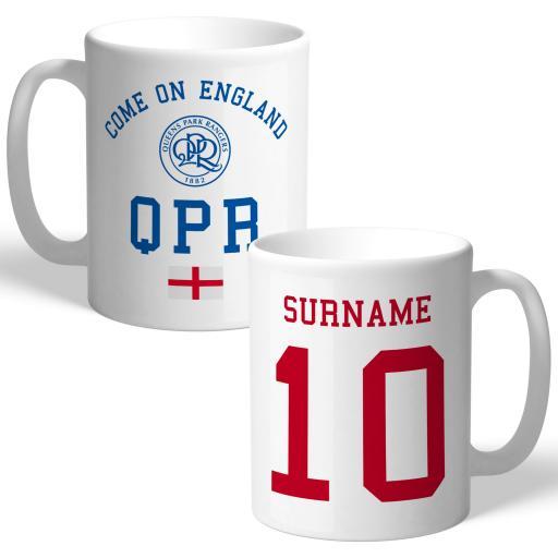 Queens Park Rangers FC Come On England Mug
