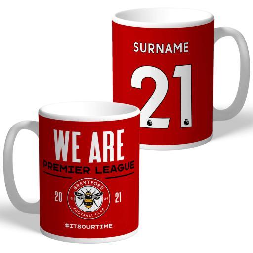 Brentford FC We Are Premier League Mug