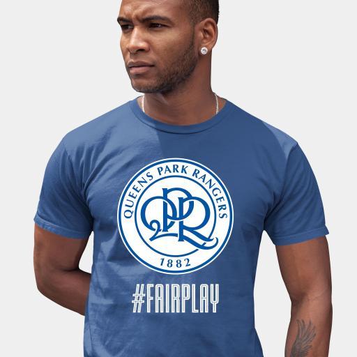 Queens Park Rangers FC Fair Play Men's T-Shirt - Blue