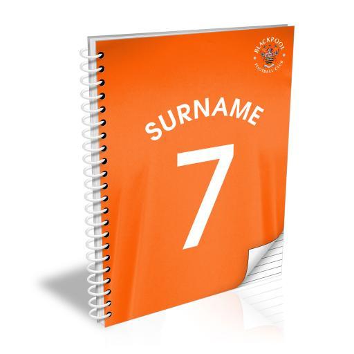Blackpool FC Shirt Notebook