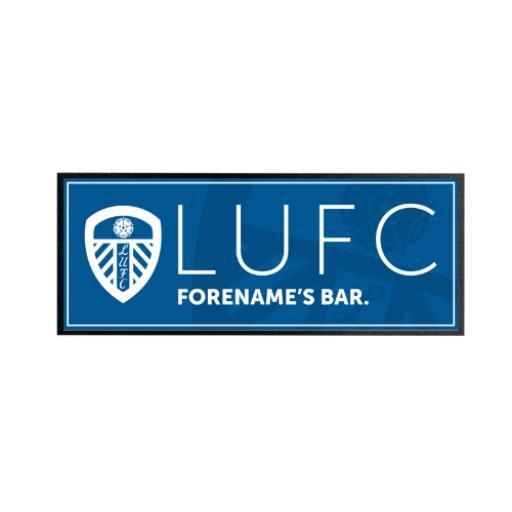 Leeds United FC Mono Crest Regular Bar Runner