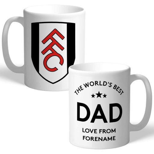 Fulham FC World's Best Dad Mug