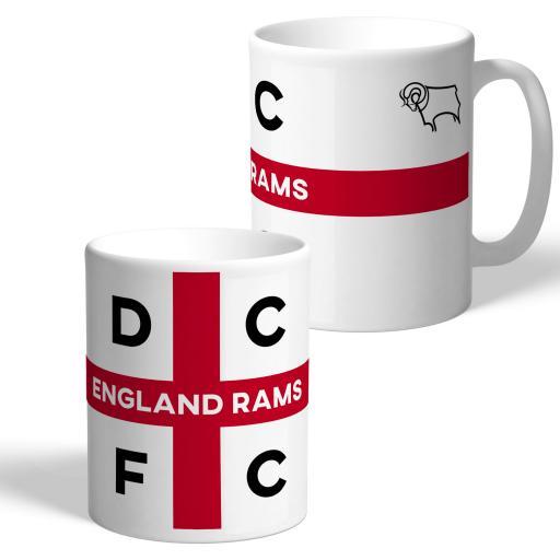 Derby County England Supporters Club Mug
